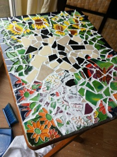 Grouting...